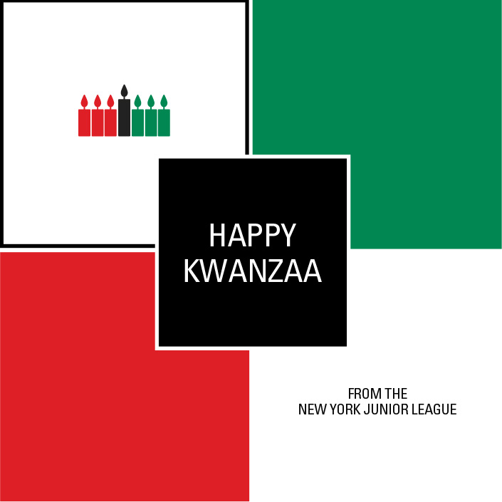 Happy Kwanzaa from the NYJL - New York Junior League
