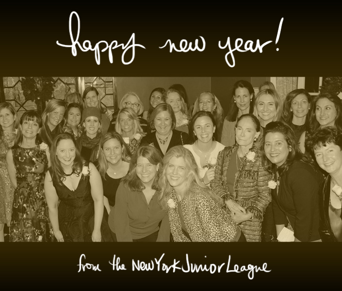 Happy New Year from the NYJL - New York Junior League