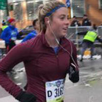 TCS New York City Marathon - Team New York Junior League NYJL - Annie Read