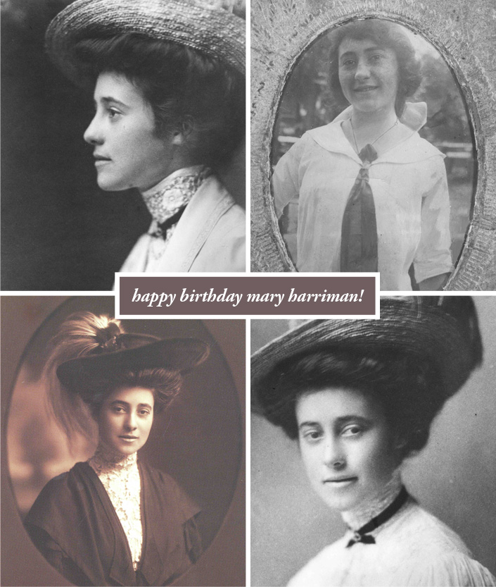 Happy Birthday Mary Harriman