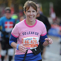 TCS New York City Marathon - Team New York Junior League NYJL - Leah Wenger