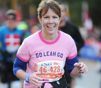 TCS New York City Marathon - Team New York Junior League NYJL - Leah Wenger