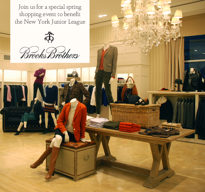 NYJL Shops! Brooks Brothers