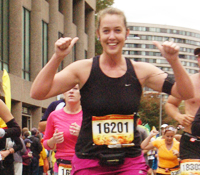 TCS New York City Marathon - Team New York Junior League NYJL - Regan Huneycutt