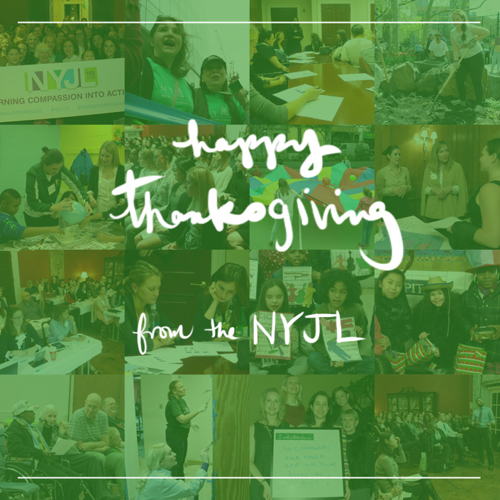 Happy Thanksgiving from the New York Junior League NYJL