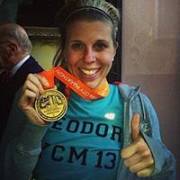 TCS New York City Marathon - Team New York Junior League NYJL - Theodora Blanchfield