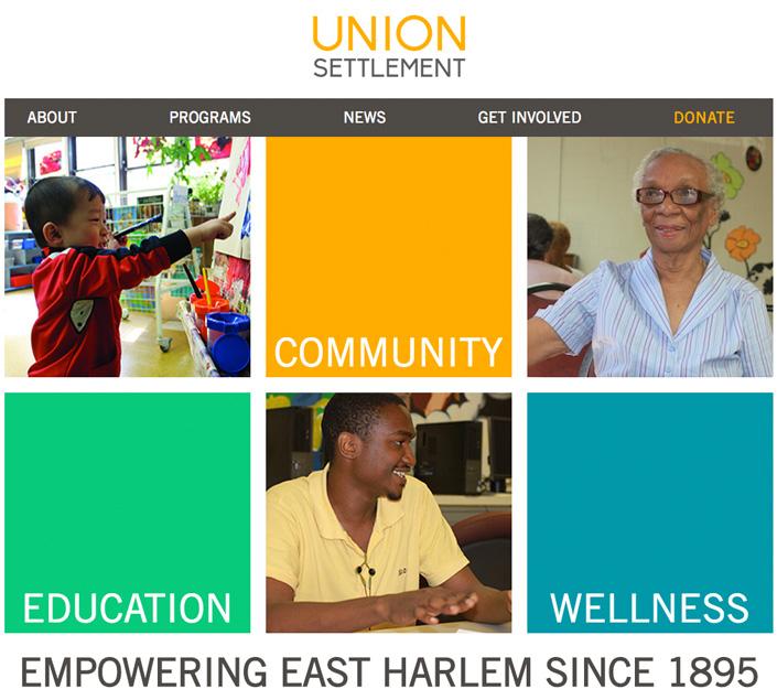 CIP Selects Union Settlement Association as Partner Project - New York Junior League